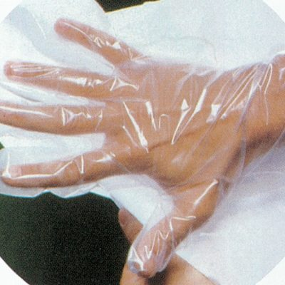 GUANTI IN COPOLIMERI SU CARTA - non sterili