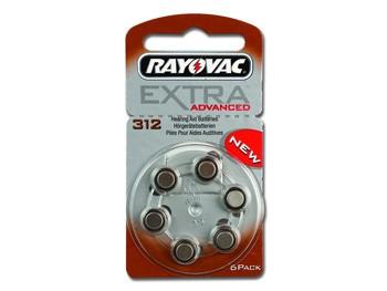 BATTERIE ACUSTICA RAYOVAC 312 - senza mercurio (blister 6 pz)