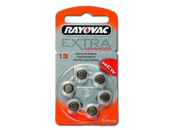 BATTERIE ACUSTICA RAYOVAC 13 - senza mercurio (blister 6 pz)