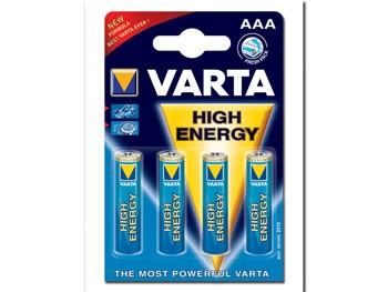 BATTERIA VARTA H.E. - ministilo AAA (blister 4 pz)