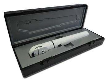 OFTALMOSCOPIO E-SCOPE - LED 2.5V - bianco in valigetta rigida