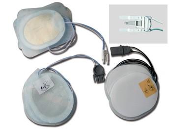 PLACCHE COMPATIBILI - per defibrillatori SHILLER - un paio