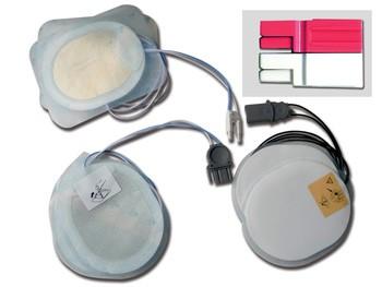 PLACCHE COMPATIBILI - per defibrillatori CARDIAC SCIENCE/GE - un paio