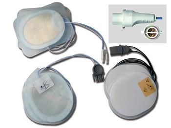 PLACCHE COMPATIBILI - per defibrillatori AGILENT/HP/LAERDAL - un paio