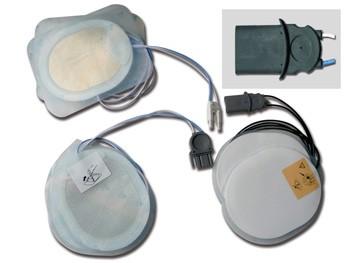 ELETTRODI MONOUSO - kit 2 pz. per CU-ER 1/2/3