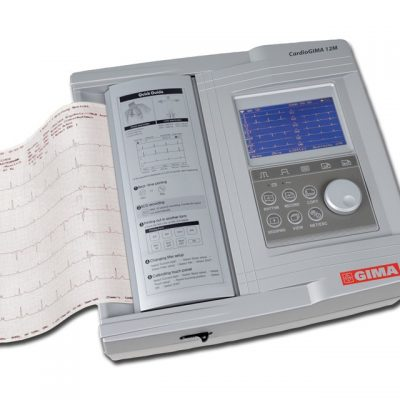 ECG CARDIOGIMA 12M - 3/6/12 canali - con monitor