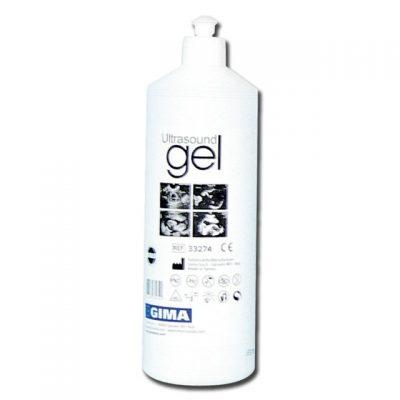 GEL ULTRASUONI - bottiglia 1 l - blu (conf. 12 pezzi)