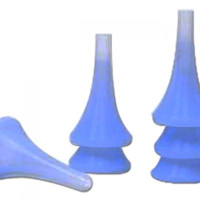 SPECULUM IN SILICONE - Ø 4.2 mm - riutilizzabile (per cod. 32166) (conf. 24 pz)
