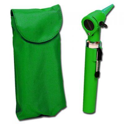 OTOSCOPIO A FIBRE OTTICHE GIMALUX - verde