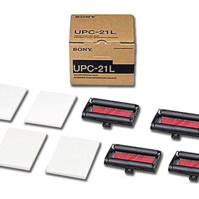CARTA SONY UPC-21 L - a colori -conf. 4 rotoli