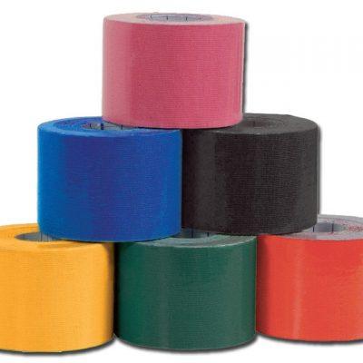 NEUROMUSCULAR TAPE - 9.1 m x 3.8 cm - mix colours - conf. 6 pz.