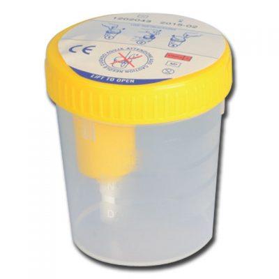 CONTENITORE URINE PLUS 100 ml - con campionatore