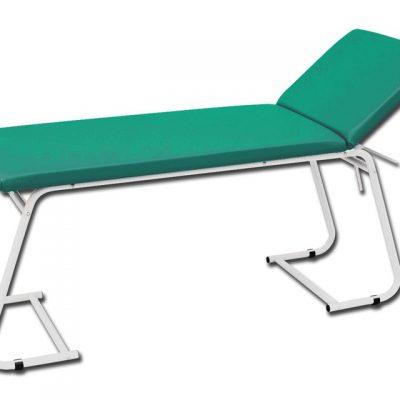 LETTINO VISITA MEDICA - verniciato - verde